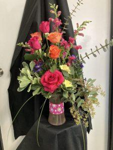 traditional flowers arrangement