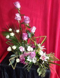 contemporary flowers clayton