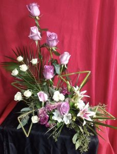 contemporary flower arrangement clayton nc