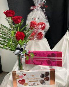 plush candy flower arrangement clayton