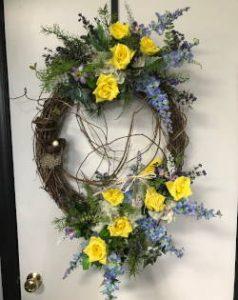 wreath flowers clayton nc